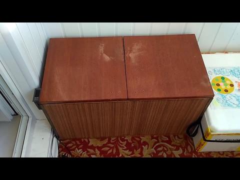 Термобокс (ларь) для овощей своими руками на балкон для хран.