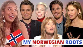 NORWEGIAN Hollywood Stars. Guess Who Speaks The Language ...