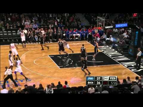 Thaddeus Young 24 points 9 rebounds vs Brooklyn Nets full highlights preseason 10/19/2012 HD