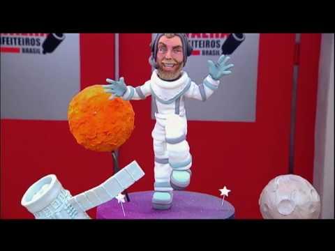 Confeiteiros fazem doces com tema esportivo e espacial