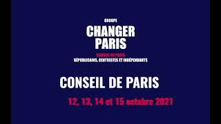 Intervention en Conseil de Paris pour dénoncer la pénurie de crèches dans le 17e arrondissement