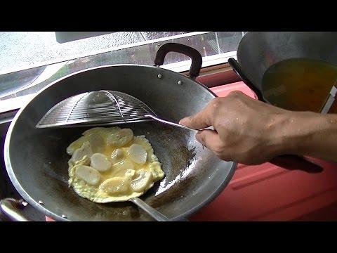 Jakarta Street Food  658 Palembang Omelette  Pempek Semar 88 Lenggang BR TiVi 5186