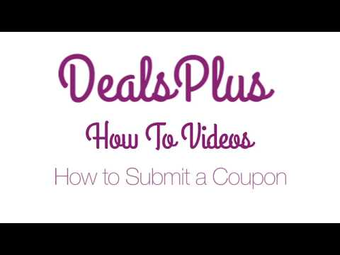 How To Submit A Coupon