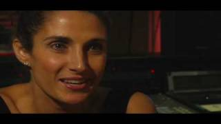 CSI: New York Game Behind the Scenes with Melina Kanakaredes
