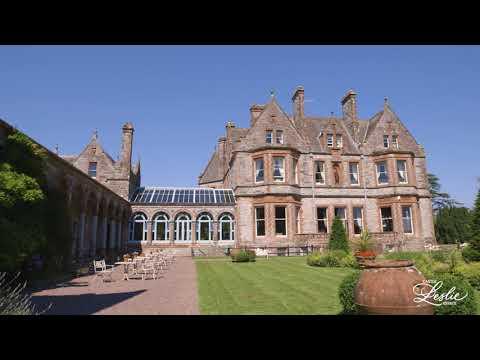 Main Castle Leslie Estate Video