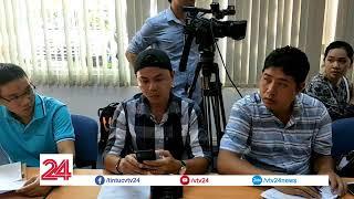 Họp báo sức khỏe 2 cháu bé trong vụ cháy chung cư Carina, Q8 TP HCM | VTV24
