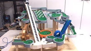 Mini Golf Marble Machine Build, Part 9 (Blue, Orange, Grey)