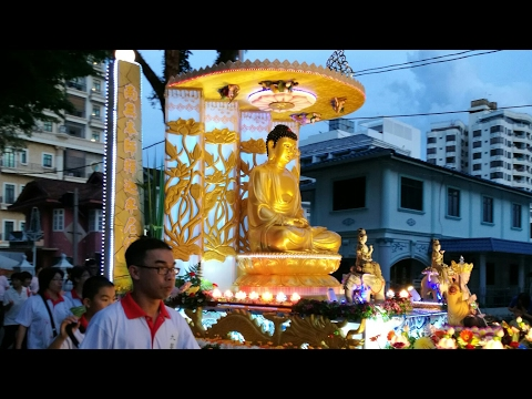 Wesak Day 2017 live streaming Georgetown, Penang