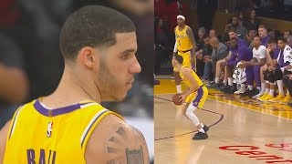 Lonzo Ball Shocks Lakers After Taking Over & Being Aggressive! Lakers vs Bulls