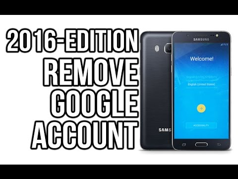 2016 edition - SAMSUNG bypass google account (FRP LOCK) j5, j7, j3, s6, s6 edge,