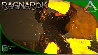 Ark - JUNGLE DUNGEON! LAVA GOLEM CAVE! w/ Syntac, Jimbob, Shredder(Ragnarok 18)