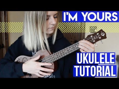 I'm Yours - Jason Mraz | EASY UKULELE TUTORIAL