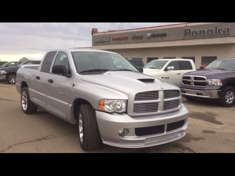 2016 Ram 1500 Sport >> 2005 Dodge Ram 1500 SRT 10 Viper Engine - YouTube