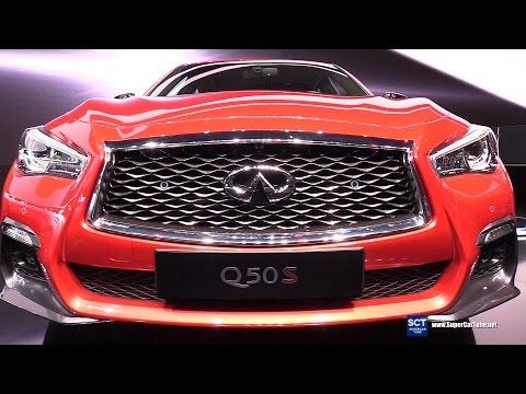 2018 Infiniti Q50 S -  Exterior and Interior Walkaround - Debut at 2017 Geneva Motor Show