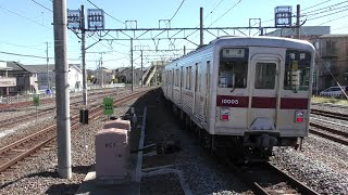 東武東上線 坂戸駅での折り返し運転
