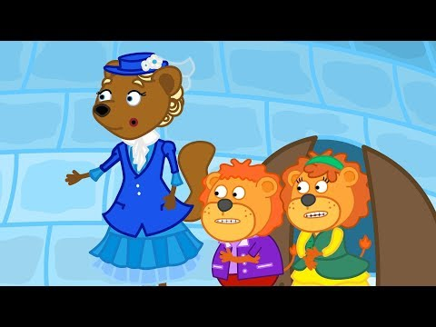 Lion Family Mary Poppins 2 Cartoon for Kids