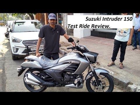 Suzuki Intruder 150 Test Ride Review.