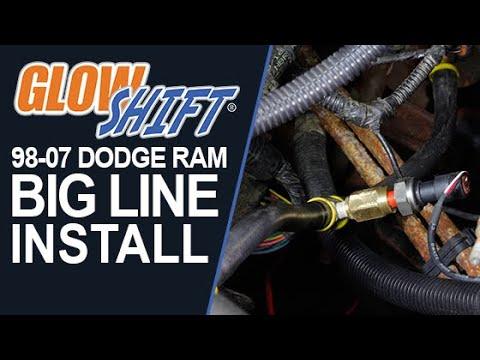 GlowShift How to Install a 19985-2007 Dodge Ram Cummins Fuel
