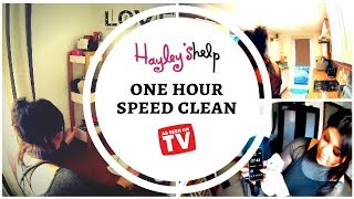 1 Hour Speed Clean |  Power Hour Clean  | + My UK cleaning products | Clean With Me 2018