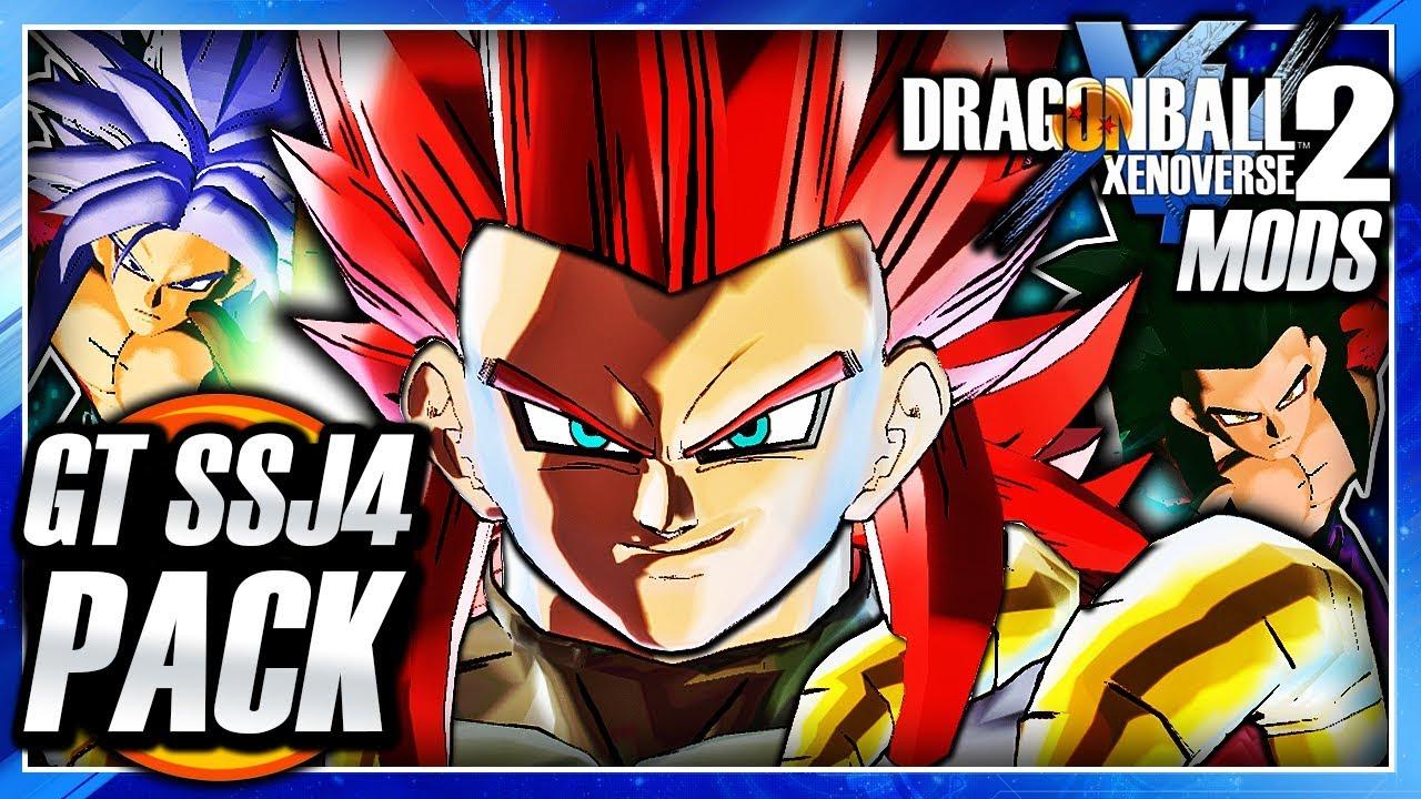 Dragon Ball Xenoverse 2 Pc Ultimate Ssj4 Gt Goten Trunks Dlc Pack