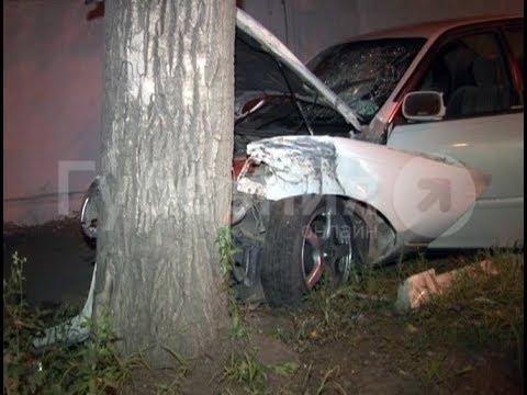 Начинающий водитель попал в ДТП, пытаясь впечатлить девушек в Хабаровске. Mestoprotv