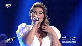 Cristina Vasopol Ana, zorile se varsa-Loredana- Vocea Romaniei 2015 LIVE 2  Ed  12 Sezon5