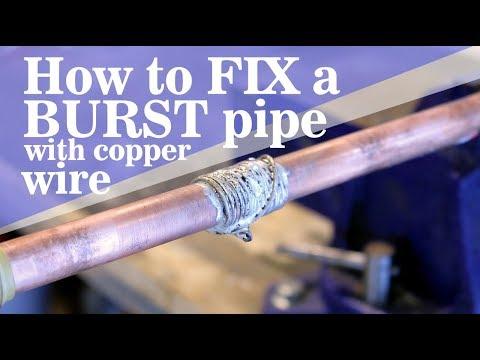 Burst Pipe Repair in Richardson