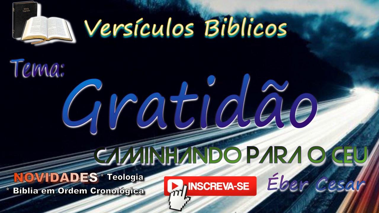Populares VersíCulos BíBlicos De GratidãO DA05