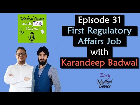 Find Your First Regulatory Affairs Job With Karandeep Badwal