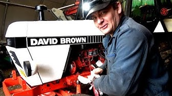 David Brown 1290 - Moottoriöljyt ja Suodatin