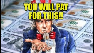 ECONOMIC SHAM EXPOSED, YOU WILL PAY FOR THIS, FINANCIAL PLAN IMPLOSION, DIGITAL DOLLAR DELUSION