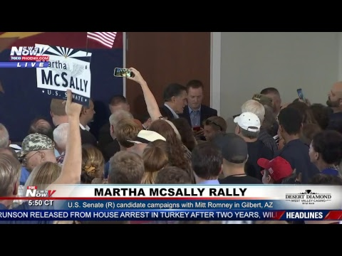 FNN: McSally rally in Gilbert; stocks rebound after slump; American pastor freed from Turkey