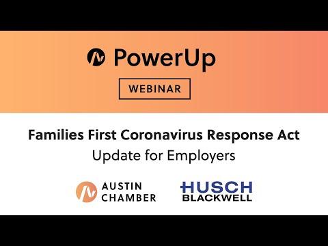 [Webinar] PowerUp: Families First Coronavirus Response Act