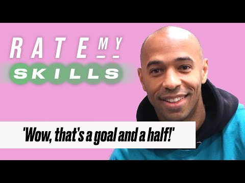 Thierry Henry Reacts To Sunday League Clips | Rate My Skills | @LADbible TV