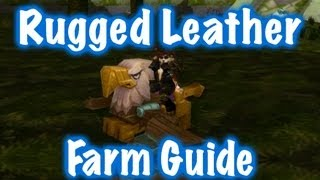 Rugged Leather Farm Guide (World of Warcraft)