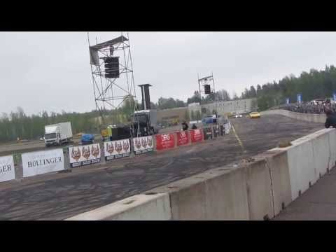 Lamborghinis in  Air & Motor Show Live, in Malmi, Helsinki