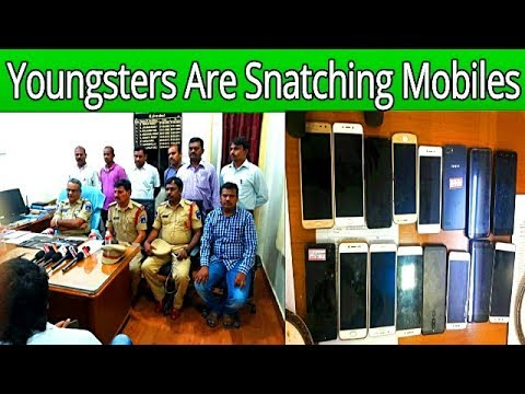Youngsters Became Robbers In Hyderabad Madhapur | 2 Youngsters Arrested For Snatching Mobiles |