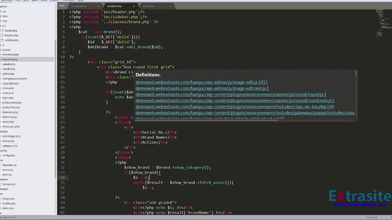 Bài 12 : Lập trình Website PHP mô hình MVC - Tạo thương hiệu sản phẩm#2