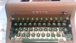Royal Quiet De Luxe Manual Typewriter Ribbon Drive Repair Fix