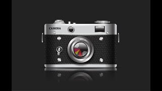 Creating a Camera in Adobe illustrator CC Tutorial