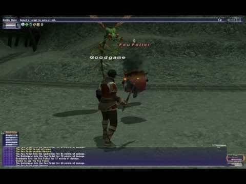 FFXI - Beastmaster Soloing In Gusgen Mines