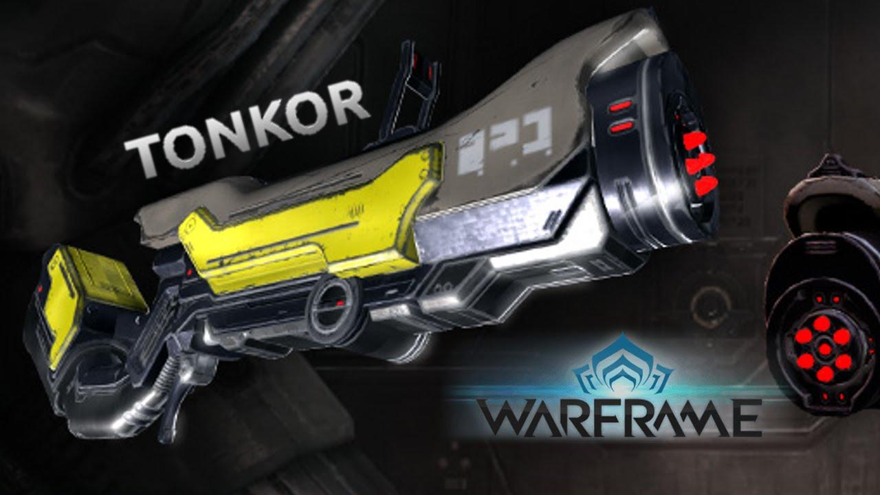 Warframe | Tonkor - YouTube
