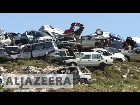 Israeli scrap cars sold illegally in West Bank