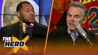 Eddie House on LeBron's Cavs going into the 2nd half and Cuban's tanking comments | THE HERD