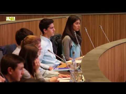 Celebració del 12è Consell de Joves d'Andorra