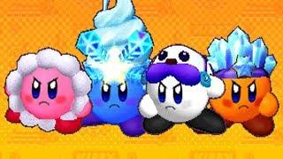Kirby Battle Royale - All Ice Kirby Headgear & Colors
