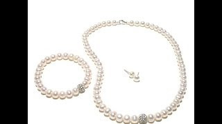 Imperial Pearls Cultured Pearl Jewelry Set