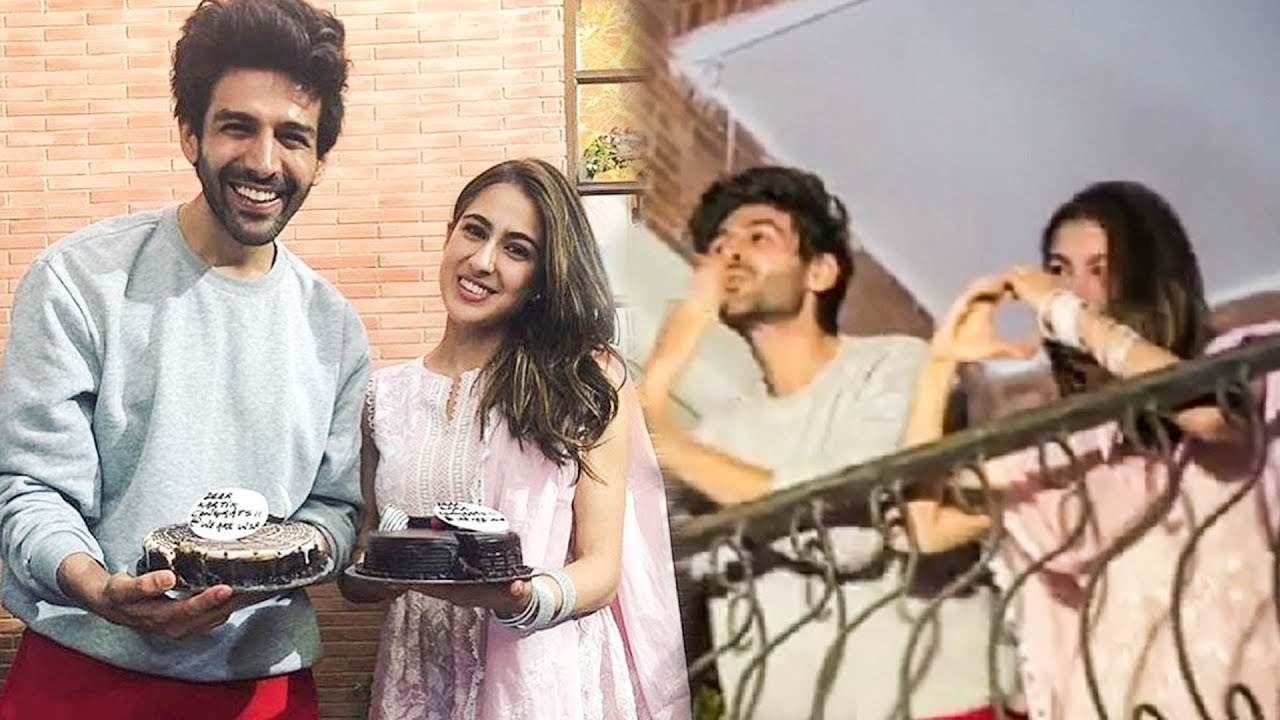 Sara Ali Khan Kartik Aaryan FIRST Time Together In PUBLIC, Greet Fans | Love Aaj Kal 2