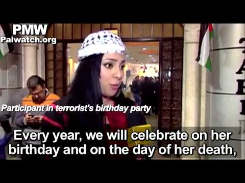Fatah TV broadcasts video celebrating terrorist Dalal Mughrabi on her birthday (short)