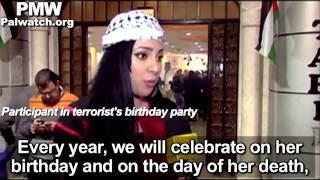 Fatah TV broadcasts video celebrating terrorist Dalal Mughrabi on her birthday (short)